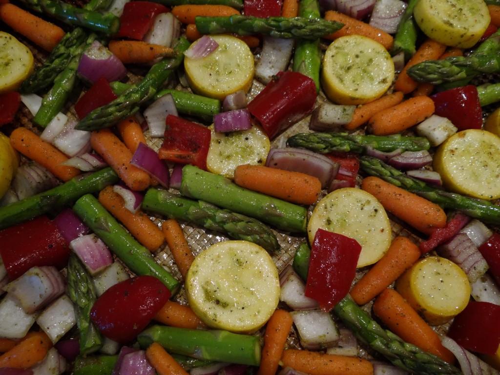 Oven-Roasted Vegetables Recipe — Dishmaps