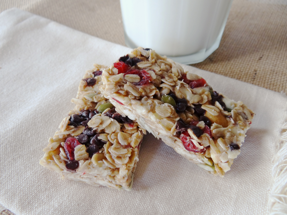 Homemade Chewy Granola Bars