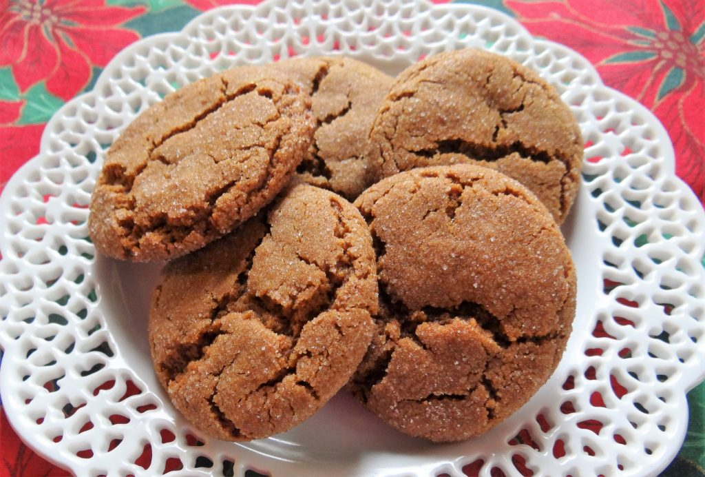 Grandmother Kluth's Gingersnap Cookies