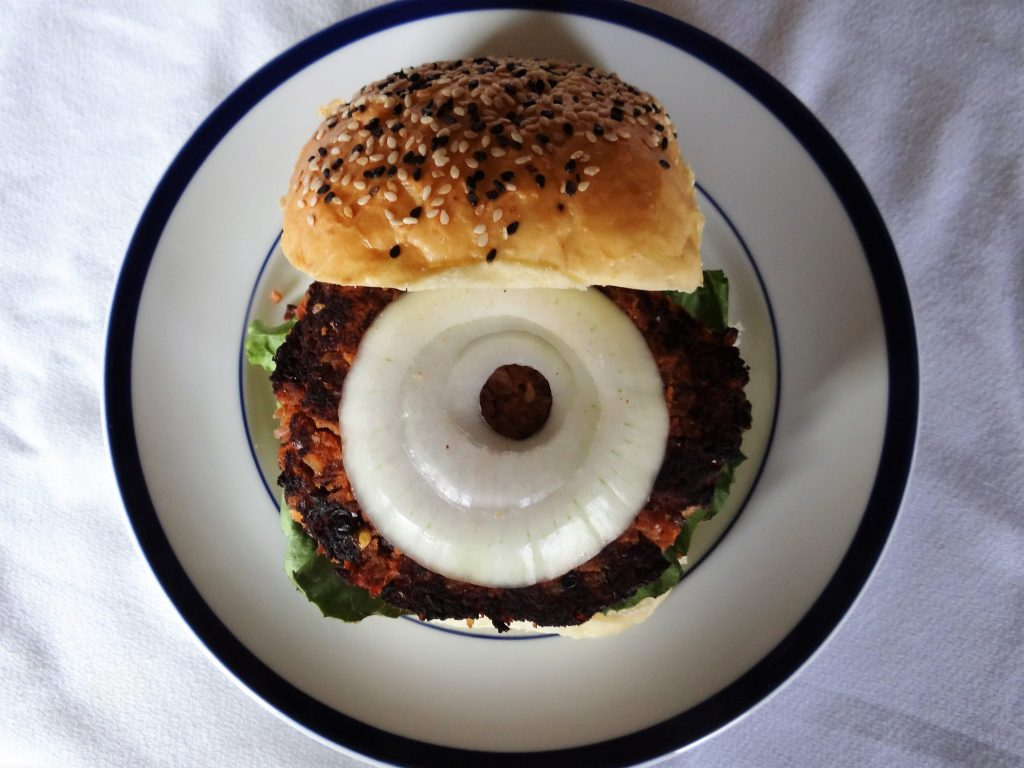 Barbecue Black Bean Burger