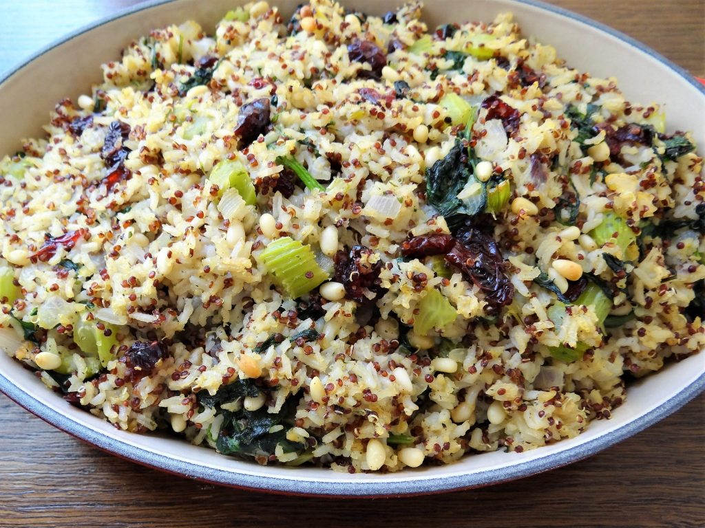 Quinoa and Red Rice Stuffingq