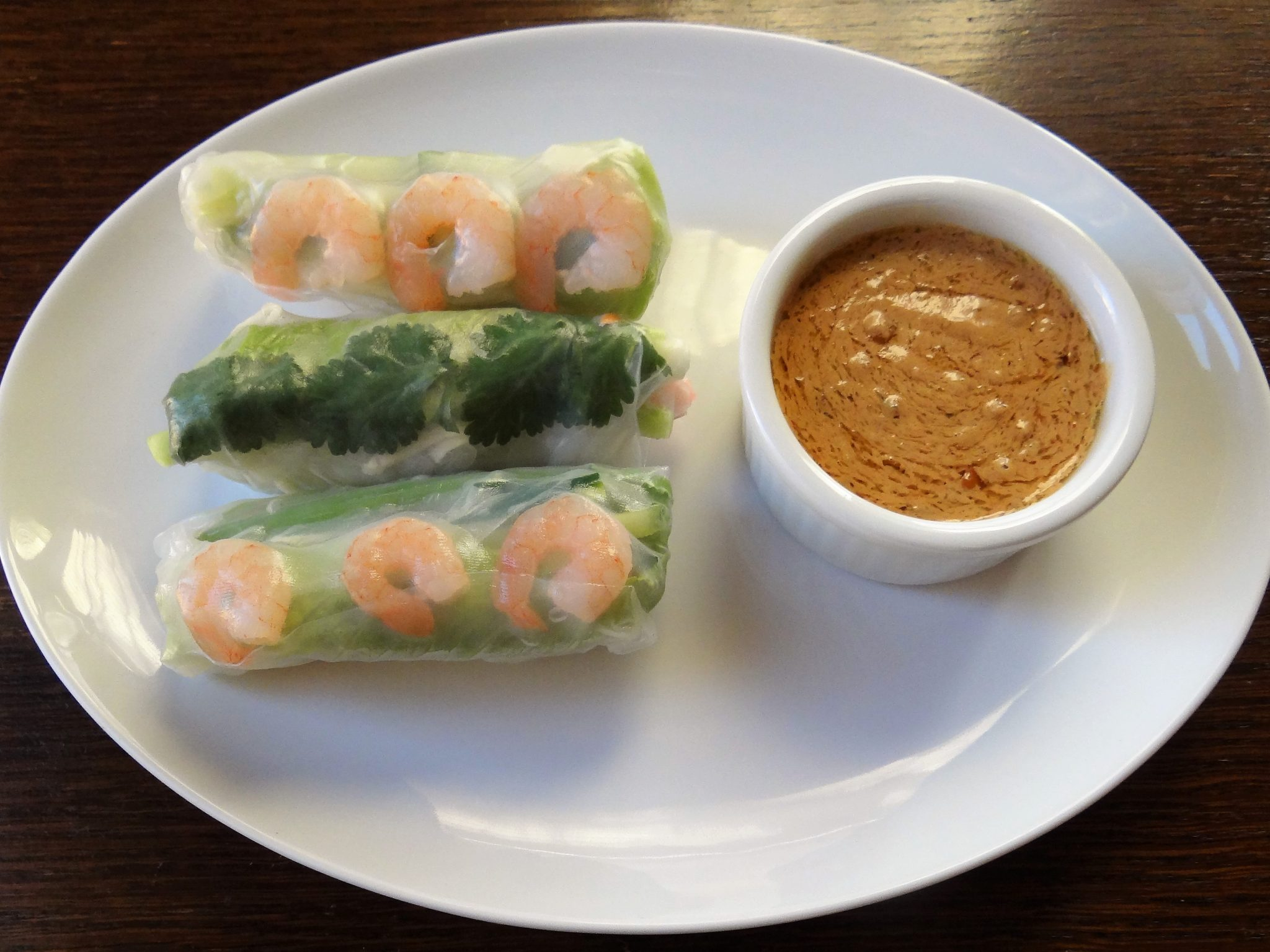 Fresh Thai Spring Rolls With Peanut Dipping Sauce The Memorable Kitchen