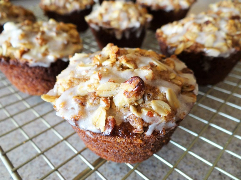 Maple Pecan Oat Muffins