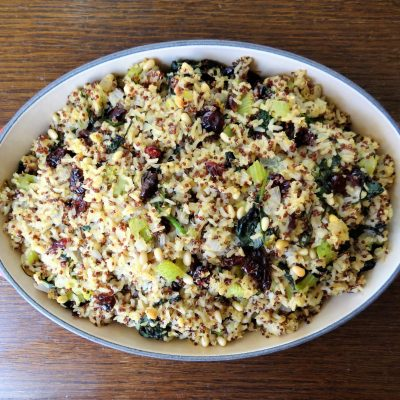 Williams Sonoma Herbed Quinoa and Red Rice Stuffing