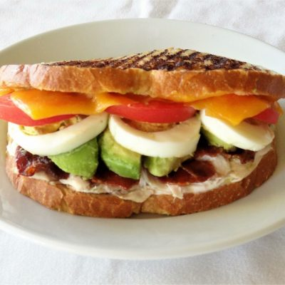 Grilled Cobb Sandwich
