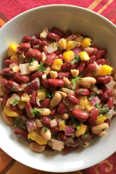 Russian Bean Salad